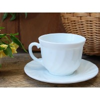 BONOX OPAL GLASSWARE Coffee cup & saucer S415-132C カップ&ソーサー