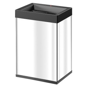 Hailo Big-Box Quick ®40 Square waste boxes Stainless steel ビッグボックスクイック40 スクエア ステンレス