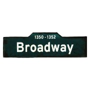 HOUSE USE PRODUCTS SIGN LIGHT [ Broadway ] サインライト