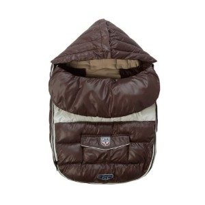 7A.M. ENFANT Baby Shield ベビーカーフットマフ Marron Grace 18-36M