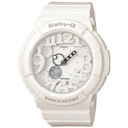 Casio Women's Baby-G BGA131-7B White Plastic Analog Quartz Watch with White Dial【並行輸入】
