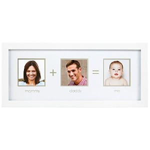 Pearhead Mommy Plus Daddy Me Frame, White by Pearhead [並行輸入品]