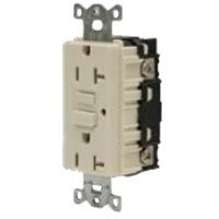 Hubbell Wiring Systems GFTR15W tradeSELECT GFCI Duplex Receptacle with Auto Grounding, Weather and...