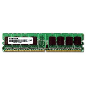 GREEN HOUSE PC2-4300 DDR2 SDRAM ECC 1GB GH-DRII533-1GEC