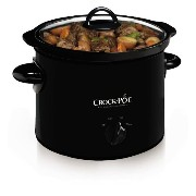 【並行輸入】Crock-Pot SCR300-B Manual Slow Cooker, 3 Quart スロークッカー