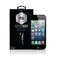 Colorant ITG PRO - Impossible Tempered Glass for iPhone 5/5C/5S - 0.33mm日本産強化ガラス製フィルム - 完全日本語パッケージ版...