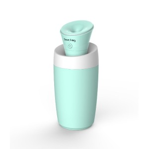 (smart item) USB ポータブル ミニ 加湿器 (mini humidifier) カップ付き 便利な コンパクト 加湿器 Water Lily (ブルー)