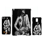 Jimmy Page Led Zeppelin iPhone 5 / 5S 新しい光沢のある携帯電話ケース
