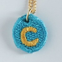 Embroidery Necklace コトダマ C