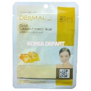 DERMAL Gold Collagen Essence Mask (10sheets) [Korean Import]