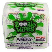 Boogie Wipes Saline Nose Wipes, Unscented, 90 Count by Boogie Wipes [並行輸入品]