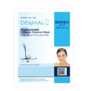 DERMAL Hyaluronate Collagen Essence Mask (10sheets) [Korean Import]