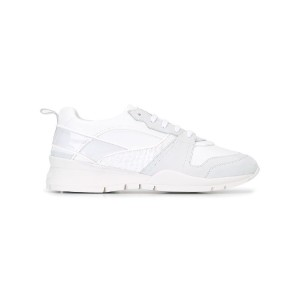 Dsquared2 - Willow レースアップスニーカー - women - レザー/PVC/Calf Suede/rubber - 39