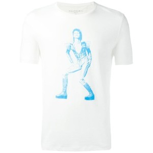 John Varvatos - David Bowie Tシャツ - men - コットン/モーダル - XS