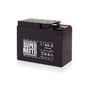 SUPER NATTO バイク用バッテリーST4A-5(YTR4A-BS GTR4A-5 FTR4A-BS互換) シールド型 メンテナンスフリー( ライブDio/SR/ZX Dio フィット...