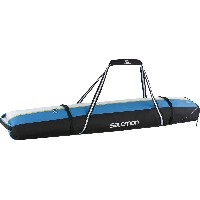 SALOMON(サロモン) スキーバッグ EXTEND 2 PAIRS 175+20 SKI BAG BLACK×PROCESS BLUE×WHITE L36944100