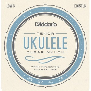D'Addario ダダリオ ウクレレ弦 Pro-Arté Custom Extruded Nylon Tenor Low G EJ65TLG 【国内正規品】