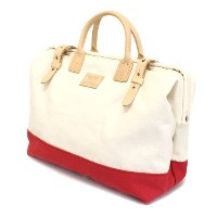 (ヘリテージレザー) HERITAGE LEATHER CO. NO.7725 Mason Bag(メイソンバッグ) Natural/Red HL084