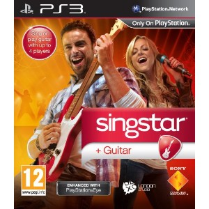 PS3 SingStar Guitar (Game Only)