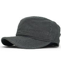 (オットー) OTTO 【PIECE GARMENT MILITARY CAP/GREY】 [並行輸入品]