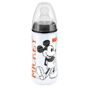 Nuk First Choice Disney 300 Ml Bottle With Silicone Teat (black/size 2) by NUK [並行輸入品]