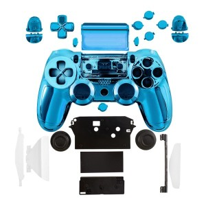 kwmobile コントローラーケースPlaystation 4 用ゲーム機 青色