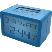 HOUSE USE PRODUCTS(ハウスユーズプロダクツ) LCD表示 置き時計 HYBRID CLOCK FRISCO BLUE ACL075 [正規代理店品]