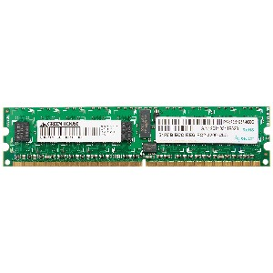 GREEN HOUSE PC2-3200 240PIN DDR2 SDRAM DIMM REGI 512MB GH-DS400-512REI