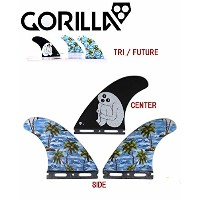 GORILLA FIN【SLOTH PALM SHANK TRI FIN SET】LARGEサイズ ゴリラフィン Single Tad FUTURE