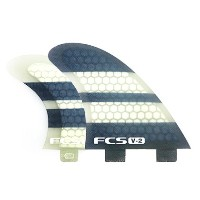 FCS V2 PC TRI-QUAD FIN PERFORMANCE CORE FIN SET FCS フィン