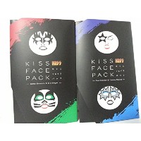 KISSフェイスパックセット KISS FACE PACK / ジーン ・ シモンズ ポール ・ スタンレー エリック ・ シンガー トミー ・ セイヤー セット