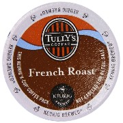 Keurig Tully's(タリーズ)KカップTully's Coffee K-Cup for Keurig Brewers 並行輸入品 (フレンチローストFrench Roast, 50カップ...