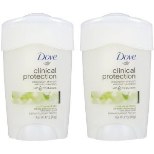 Dove Clinical Protection Antiperspirant & Deodorant, Cool Essentials - 1.7 oz - 2 pk by Unilever ...