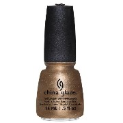 CHINA GLAZE Nail Lacquer - Autumn Nights - Goldie But Goodie (並行輸入品)