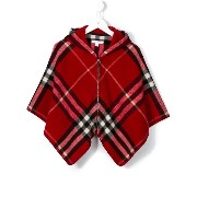 Burberry Kids check cape