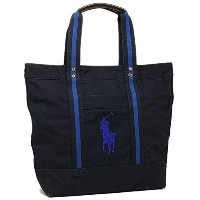 (ポロ ラルフローレン) POLO RALPH LAUREN バッグ 405594909 004 RALPH LAUREN BIG PONY TOTES トートバッグ NAVY W/ROYAL ...