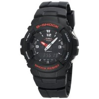Casio Men's G100-1BV G-Shock Classic Ana-Digi Watch [並行輸入品]