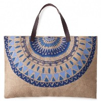 THE BEACH PEOPLE JUTE MAJORELLE BAG トートバッグ (BPL0007) [並行輸入品]