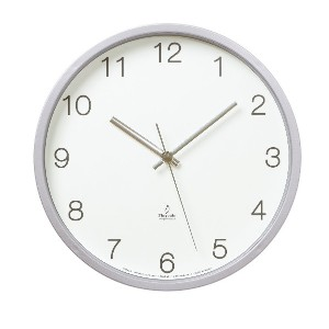 Lemnos Basic clock 電波時計 ホワイト PC06-25W WH