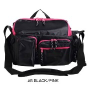 コーモラン(CORMORAN) バッグ A.W.SHOULDER BAG #8 BLACK/PINK