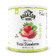 Augason Farms Sliced Strawberries 6.4 oz #10 Can by Augason Farms