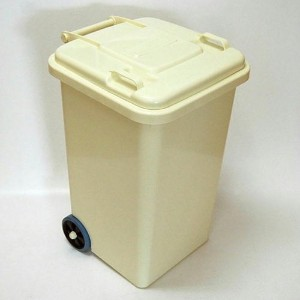 PLASTIC TRASH CAN 65L(アイボリー)