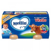 Mellin Homogenized meat veal 2x120g by MELLIN SpA