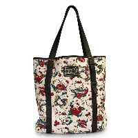 Hello Kitty Tattoo Canvas Tote