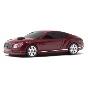 LUMENxTIMELY [ Bentlay 公式製品 Continental GT V8 ] ワイアレスマウス [ RED ] LXT-BT-GTV8-RE
