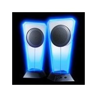 radius Blue Illumination USB Speaker ブラック RP-SPF11K