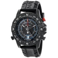 ノーティカ Nautica Men's NAD21001G NSR 103 TIDE TEMP COMPASS Analog Display Japanese Quartz Black Watch...