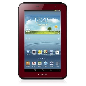 SAMSUNG サムソン GALAXY TAB2 7.0 8GB Garnet Red EDITION