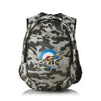 O3 Kid's All-in-One Pre-School Backpacks with Integrated Cooler 幼児用 バッグ カモ 飛行機