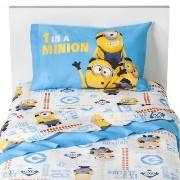 Despicable Me(怪盗グルーの月泥棒) シーツセット【ミニオン シングル ベッド 寝具 子供部屋 グッズ 輸入】